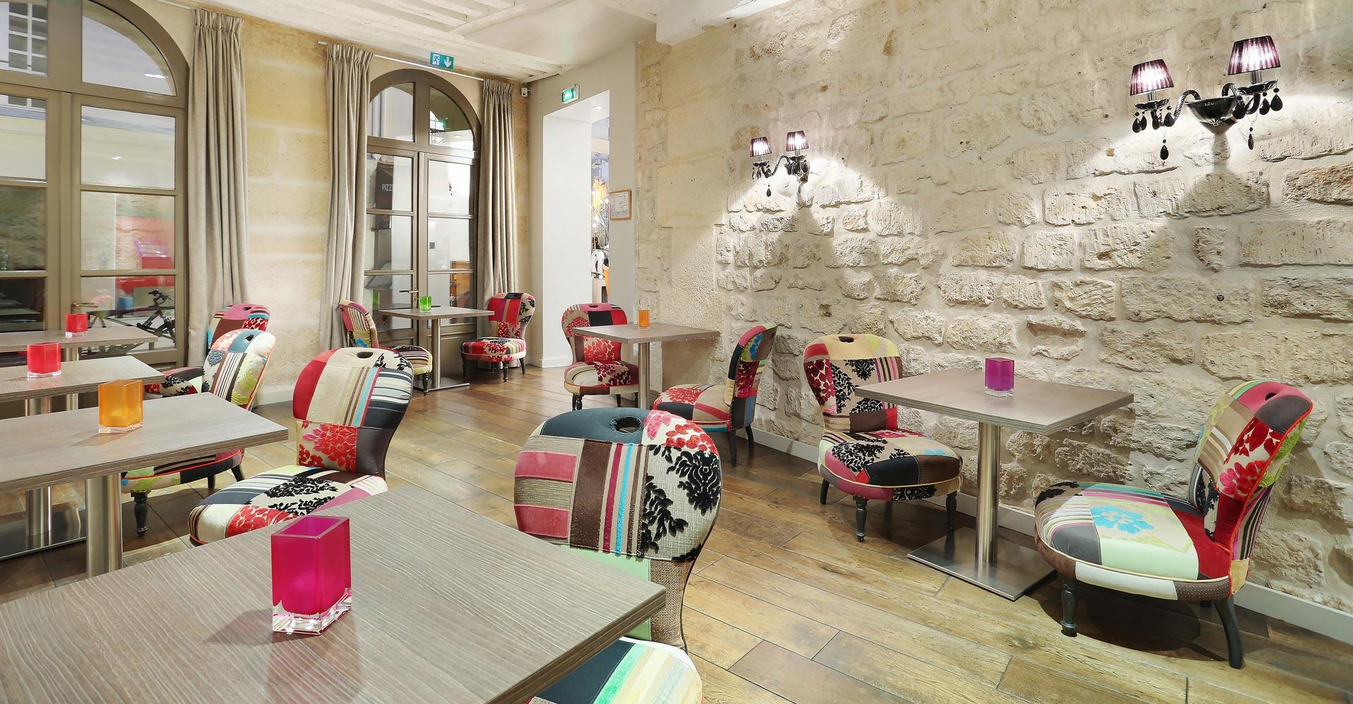 Salle Petit-déjeuner Hotel de Notre Dame